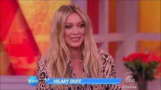 Hilary Duff Sparks The View 2015 06 19