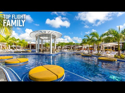 The Grand at Moon Palace Cancun With Kids - Mexico Family Travel Vlog