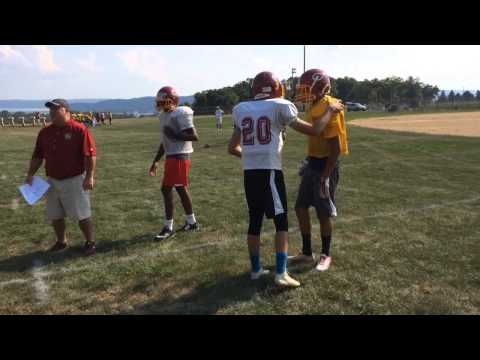 Columbia opens football camp
