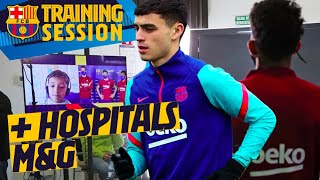 ❤️ EMOTIONAL... Barça squad meets kids in heart warming hospital virtual meeting after training