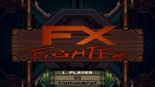 FX Fighter gameplay (PC Game, 1995)