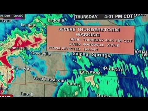 Dallas, Texas Live Radar Streams, DFW Maps & Tornado Updates