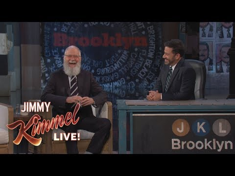 Jimmy Kimmel's FULL  with David Letterman