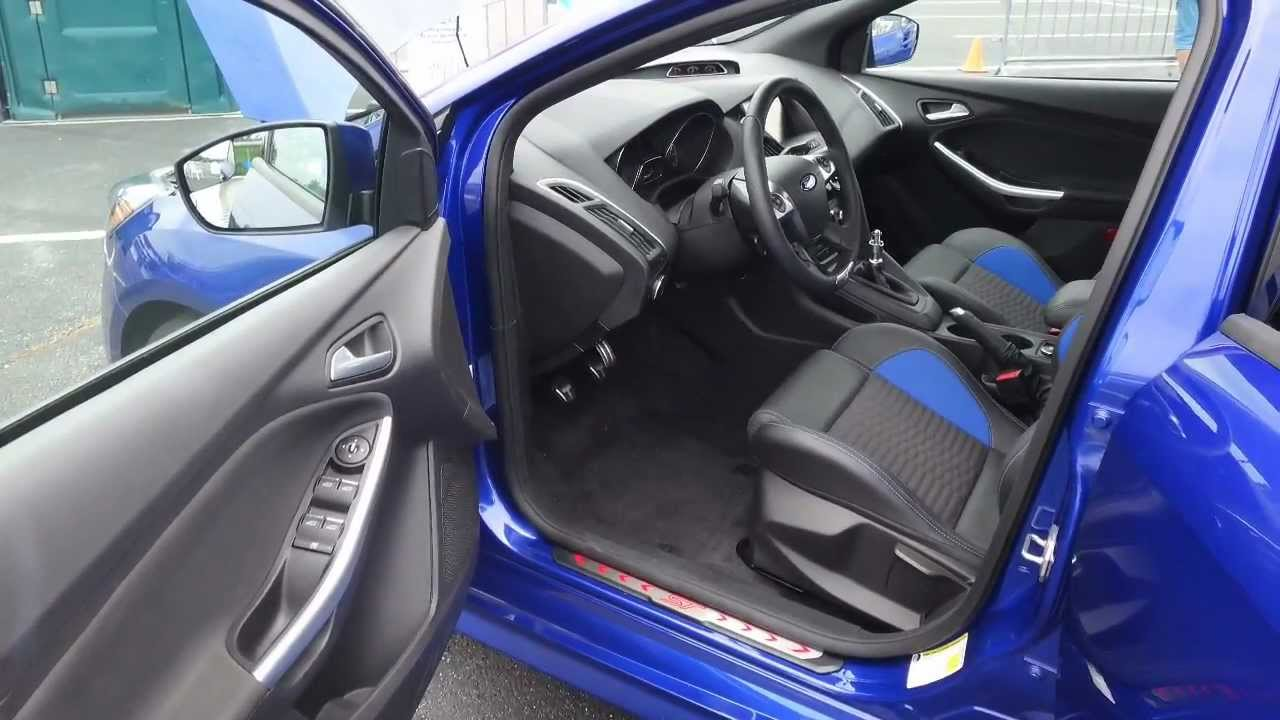 2013 Ford Focus St Interior Review Exclusive First Look