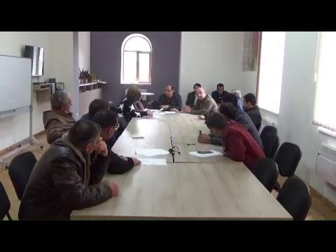 Թումանյան համայնքի ավագանու արտահերթ նիստ 23.03.20