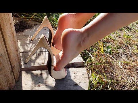 Gianmarco lorenzi high heels mules dangling (scene 582) by fetishchel