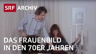 Das Frauenbild in der Werbung (70er-Jahre) | SRF Archiv