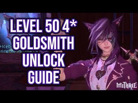 FFXIV 2.45 0469 4 Star Goldsmith Unlock Guide