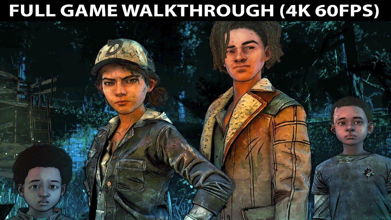 Download The Walking Dead The Final Season Full Game Walkthrough - No Commentary (Telltale Games) 4K 60FPS