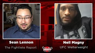 Fightlete Report UFC Fight Island 8 Main Event Welterweight Neil Magny Interview on Chiesa Fight