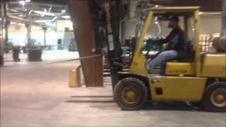 Orbitbid.com - Amerida Premium Hardwoods - Hyster H80xl Forklift 3/31/15