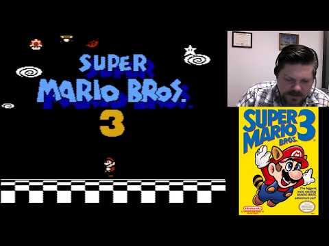 Super Mario Bros. 3 World 3-6 - 4-1| VGHI Play 'n' Chat Live Stream
