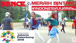Gambar cover #Trending1 [DANCE]Meraih Bintang - Song by : VIA VALLEN||DANCE IN PUBLIC|| Theme Asian games 2018