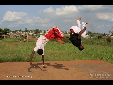 DRC: Capoeira helps Central African Refugees find Peace
