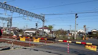 東武8111F 東武動物園駅引き上げ線折り返し