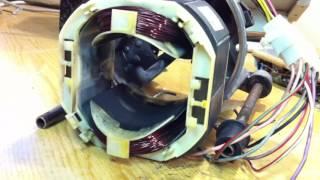 видео Коллекторный двигатель переменного тока: схема подключения