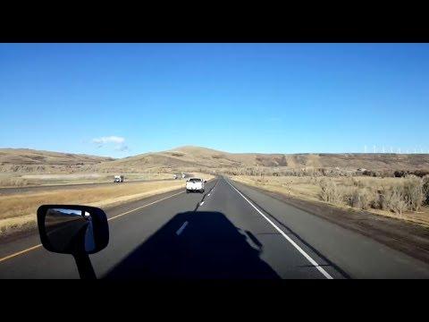 BigRigTravels LIVE! Schuyler, Nebraska to Wamsutter, Wyoming US 30, I-80-Oct. 24, 2018