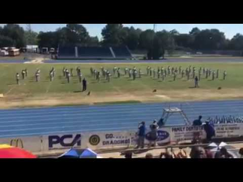 DeRidder Louisiana Middle School Marching Band