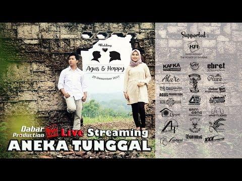 LIVE ANEKA TUNGGAL The Wedding AGUS & HAPPY Jatibarang Indramayu 25 Desember 2017