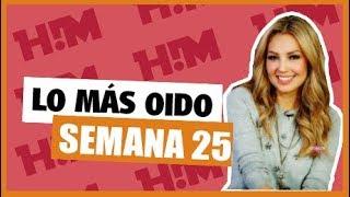 Top 40 Reggaeton, Canciones Más Sonadas  (Semana 25), Junio 2018