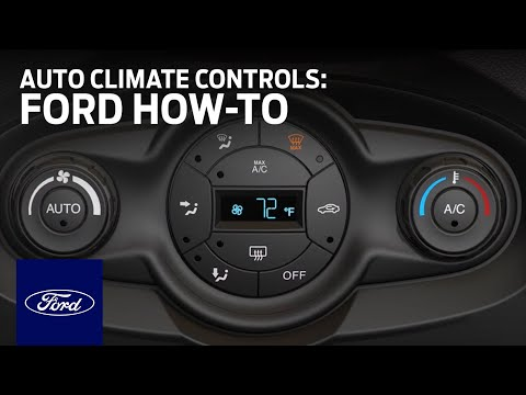 Auto Climate Controls: Fiesta   Ford How-To   Ford