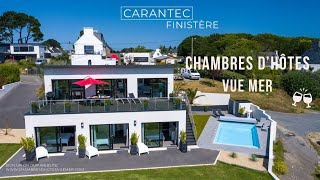 Les chambres d'hôtes vue mer à Carantec