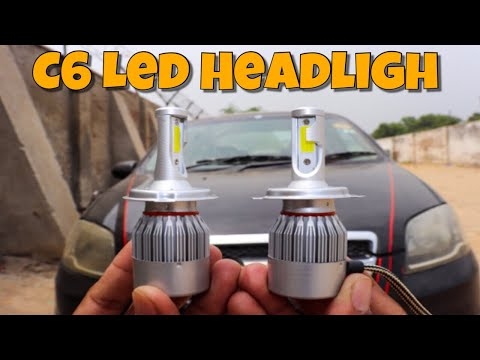 Best H4 C6 Led Headlights Ever For Your Bike Scooter Cars 😍