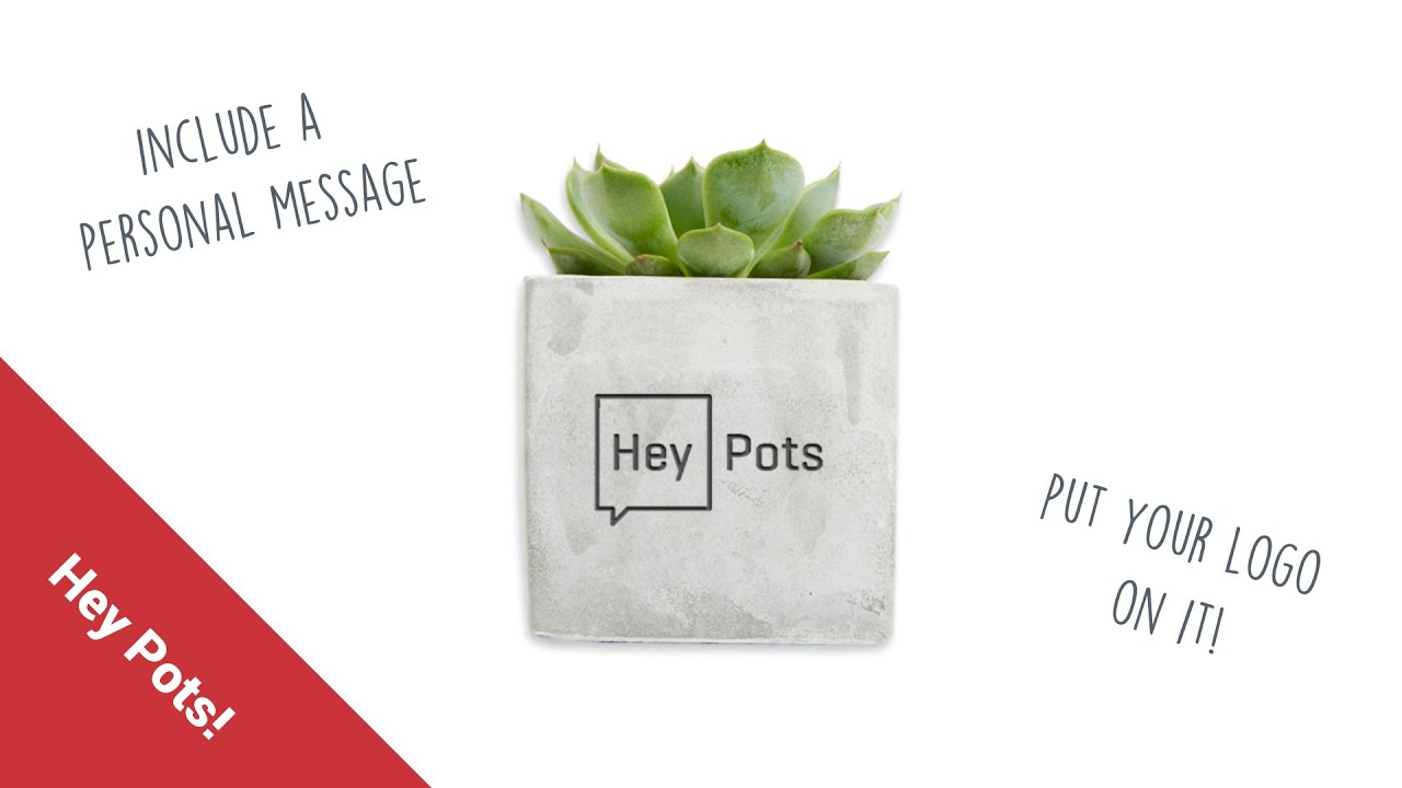 Hey Pots | Small Concrete Candle and Plant Pots | UK MADE