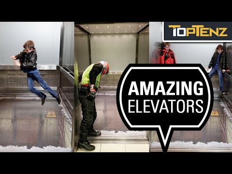 10 Extreme and Unusual Elevators Around the Globe