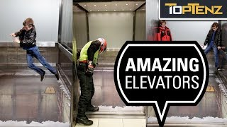 Elevators. These vertical transport machines in buildings worldwide...