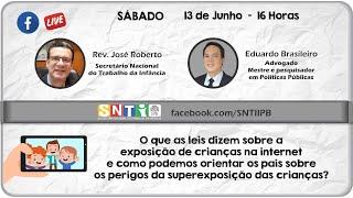 Live da SNTI IPB #200613 - Apresentação, José Roberto