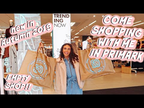 PRIMARK COME SHOPPING WITH ME!! *new in Autumn 2019*