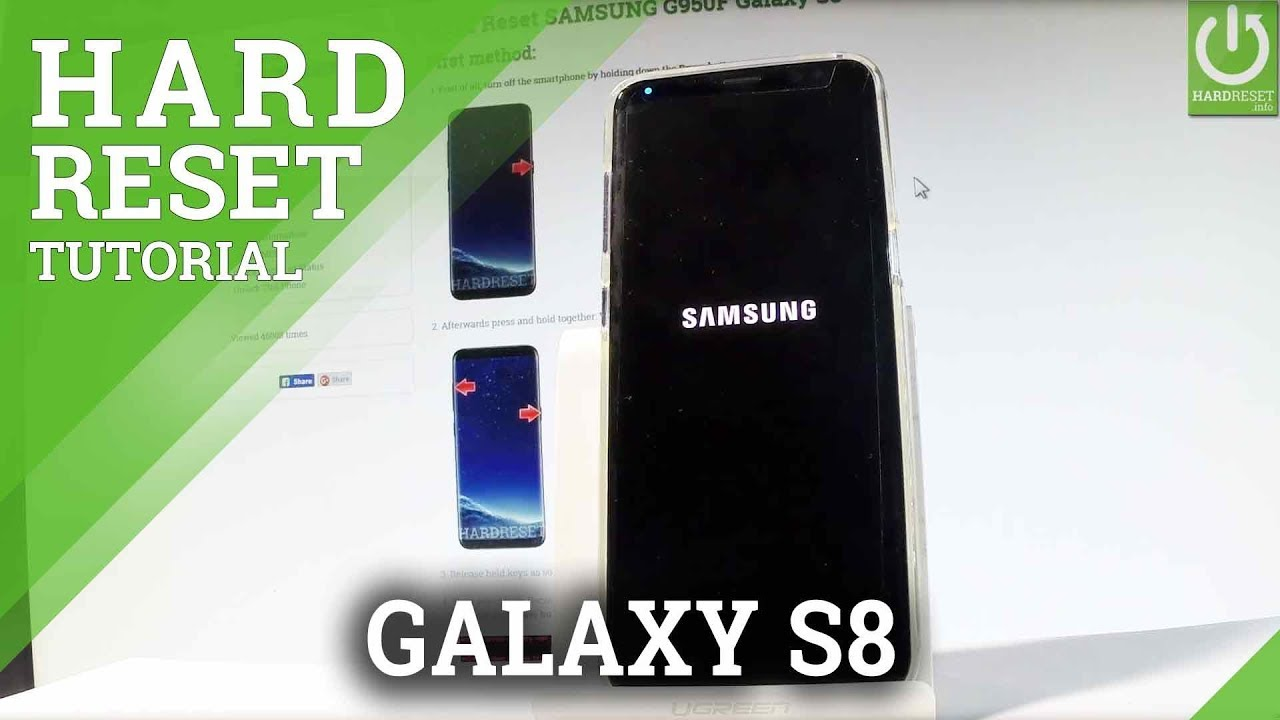 Hard Reset SAMSUNG G955F Galaxy S8+ - HardReset info
