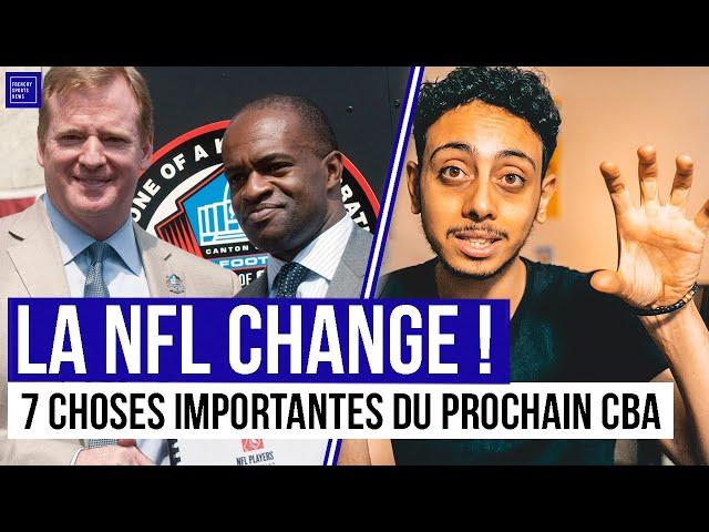 LES 7 CHOSES QUI CHANGENT EN NFL !