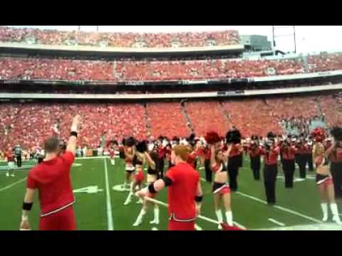 UGA Band Krypton and Glory