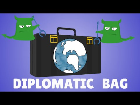 Diplomatic Bag explained , International Law Animation
