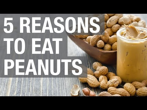 5 Reasons to Eat Peanuts