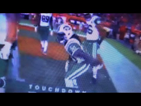 Isiah Crowell Vulgar Touchdown Celebration Mars NY Jets Lead Over Cleveland Browns