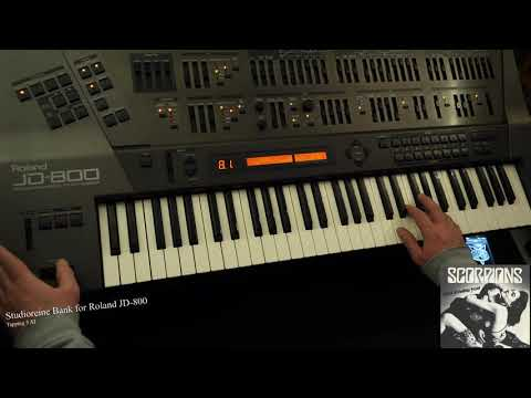 [Roland JD-800] Demo Patch - Tapping 5 AT - Scorpions - Still loving you