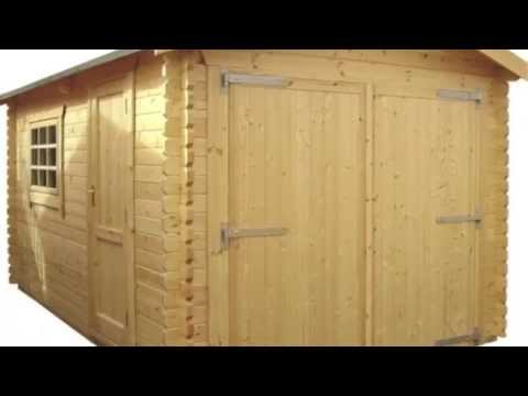 Interlocking Cabins and Garages