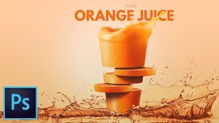 Fruit Juice Photo Manipulation Effect Photoshop Tutorial