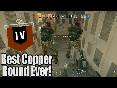 The Greatest Copper Round Ever Recorded! Rainbow Six Siege Funny Moments