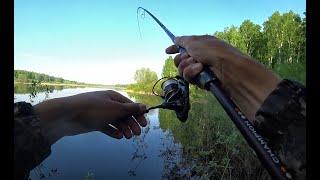 Ловил окуня И ТУТ СЕЛО РУКИ ЗАТРЯСЛИСЬ Вечерний джиг на озере Рыбалка на Алтае окунь щука