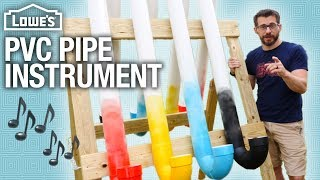 How to Build a Kid's PVC Pipe Instrument (w/ I Like To Make Stuff)
