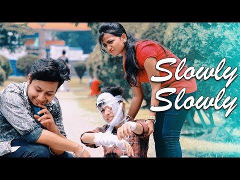 Slowly Slowly   Guru Randhawa   Cute & Funny Love Story   Latest Hindi Song 2019   RS Rhythm