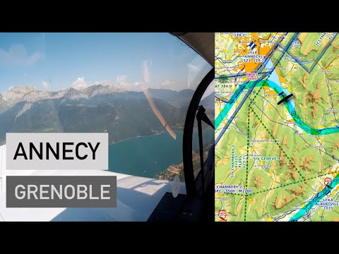 Chambéry Et Le Lac D'Annecy En DR400