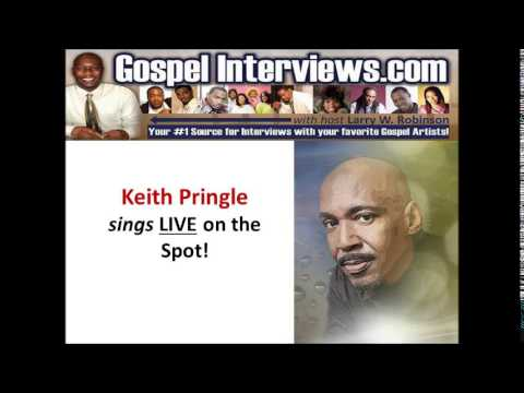 Keith Pringle Sings LIVE on the spot.