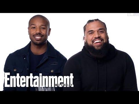 Rocky Vs. The Rock: Michael B. Jordan & Steven Caple Jr. Are Put To The Test | Entertainment Weekly