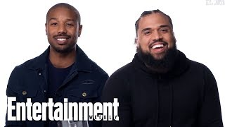 Rocky Vs. The Rock: Michael B. Jordan & Steven Caple Jr. Are Put To The Test | Entertainment Weekly