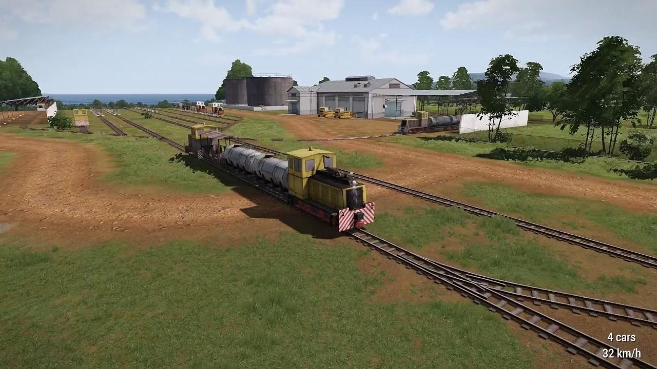 Advanced Train Simulator (ATS) - ARMA 3 - ADDONS & MODS
